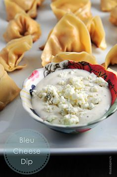Bleu Cheese Dip Recipe @addapinch | Robyn Stone