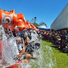 """@goaztecs's photo: """"Steve Fisher and the #AztecMBB program accepted the #ALSIceBucketChallenge in honor of Mark Fisher. Video to follow."""""""