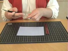How to make a flip card or swing card - without a die or cutting machine