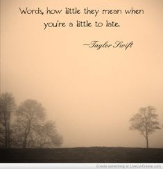 Taylor Swift Quote Picture by Kaylamorren115 - Inspiring Photo