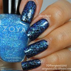 Sassy Paints: Zoya Mosheen from the Zenith Winter-Holiday Collection