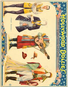 HOllywood Dollies 1925 original - Bobe Green - Picasa Web Albums