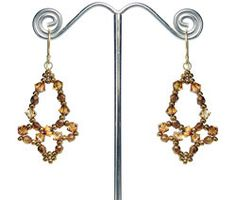 Free Beaded Chandelier Earrings Pattern