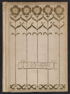 Citation: An island garden, 1894. Irving F. Burton papers, Archives of American Art, Smithsonian Institution