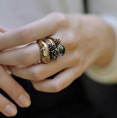 .rings #style #fashi