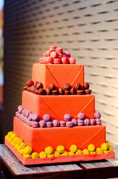 Macaroon Cake created by Gottfried Schuetzenburger, Executive Pastry Chef at Grand Hyatt Singapore.