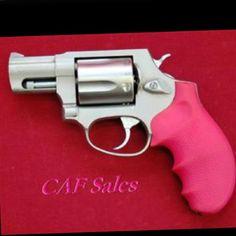 Pink Taurus 357 Mag. Revolver