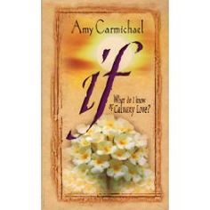 If by Amy Carmichael