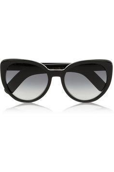 Cutler and Gross Cat eye acetate sunglasses