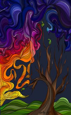 Colors Tree