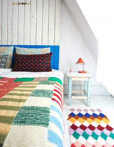 Bedrooms can be colorful and calm! Find out how in this inspiring new interiors BOOK! http://www.amazon.com/Bright-Bazaar-Embracing-Color-Make-You-Smile/dp/1250042011/