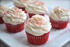 Phenomenal Red Velvet Cupcakes  - Southern Plate