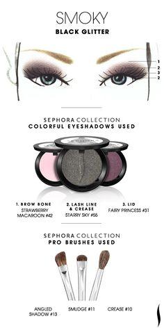 eye makeup, sephora eyeshadow, sephora how to, colors, sephoracollect sephora