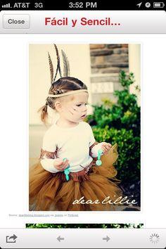 Pocahontas tulle costume