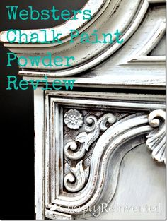 Simply Reinvented Webster's Chalk Paint Powder Review