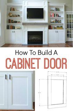 Build a cabinet door
