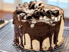 Chef Duff Goldman Charm City Chocolate Espresso Cake