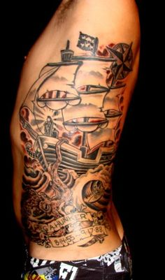 By Mark Longenecker, Endless Summer Tattoos, Cocoa Beach FL