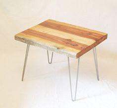 minimal wood side table