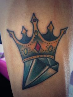 Corona Princesa Tattoos