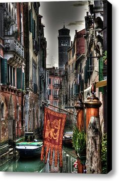 Venice Stretched Canvas Print / Canvas Art By Andrea Barbieri