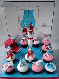 Dr Suess Cupcakes - Cake International by The Clever Little Cupcake Company (Amanda), via Flickr
