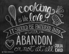 Julia Child - Inspiration