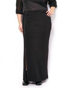 Long Skirt with Zipp