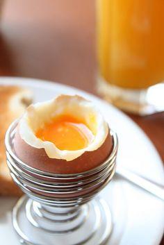 I love a perfect soft boiled egg.