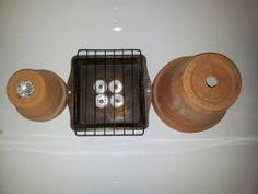Flower Pot Tea Light Heater