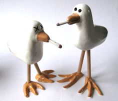 Smoking Seagulls