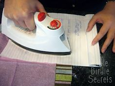 How to make napkin cards to match your party theme tutori, irons, hit, napkins, napkin cards, paper, parties, craft techniqu, birdi secret