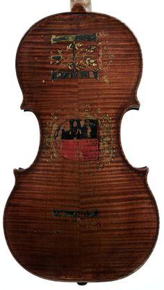 The King Henry IV Violin by Antonio and Girolamo Amati, Cremona, ca. 1595