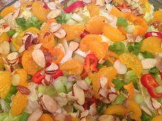 Mandarin Spinach Salad   #gluten free #vegan