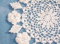 round crochet doily