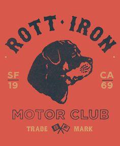 Rott-Iron  by Damian King, via Behance