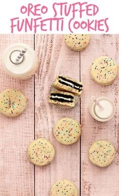 My two great loves in life: Oreos + funfetti.