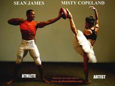Ballet/Football = Art/Athletics