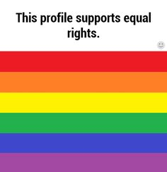 Equal rights <3