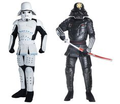 The Force meets feudal Japan with these #StarWars space samurai costumes.