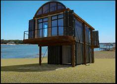 Apartamento construido con Containers