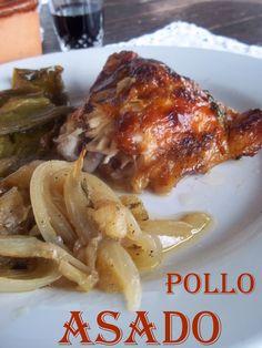 El cuaderno de recetas: Pollo Al Horno {Con Manzanas y Verduras}