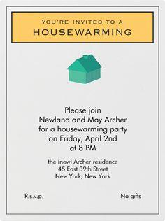 office warming invitation