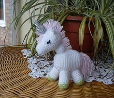 Charley the Unicorn *6 inches tall