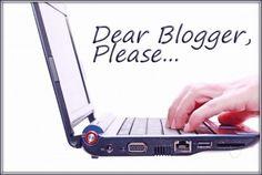 blogger advice