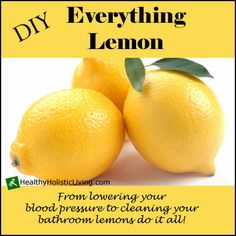 So what's so amazing about a lemon? Check out DIY Everything Lemon