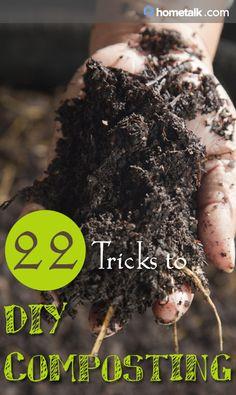 22 Tricks to DIY Composting!