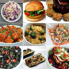Our 25 Most-Pinned Healthy Dinners - these can also be adjusted to the 21 day fix portions