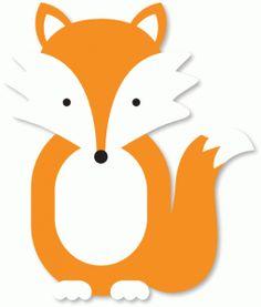 Cute cartoon fox face - photo#24