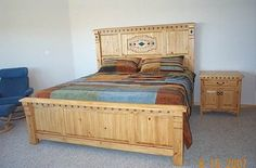 Southwestern Bedroom Furniture - Contempoary Southwest by Grazier - Handmade Santa Fe Style Furniture